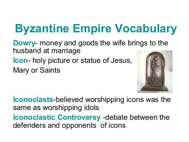 Byzantine Empire & Russia Vocabulary