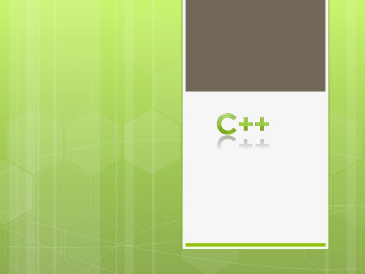 C++<br />