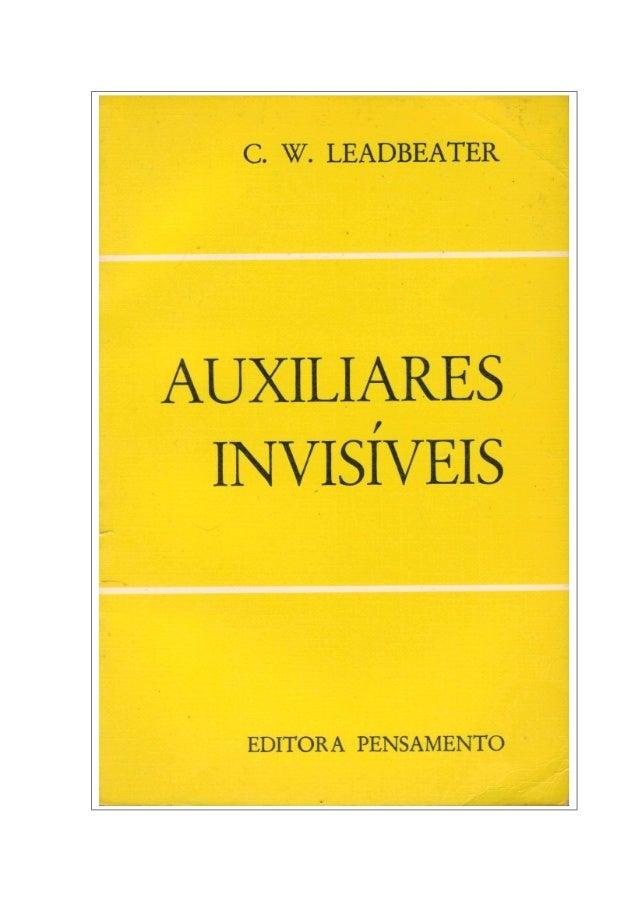 Auxiliares invisíveis (rev) - C. w. Leadbeater