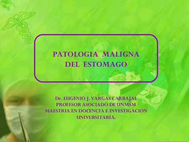 Dr. EUGENIO J. VARGAS CARBAJAL PROFESOR ASOCIADO DE UNMSM MAESTRIA EN DOCENCIA E INVESTIGACION UNIVERSITARIA.