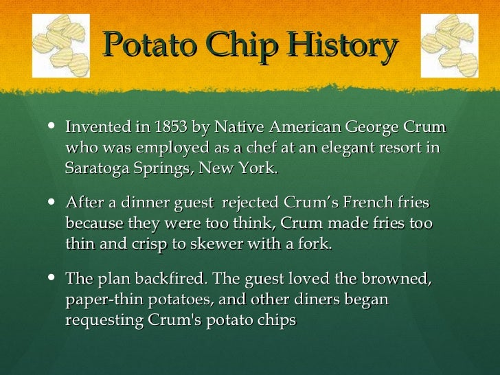 the potato chip essay