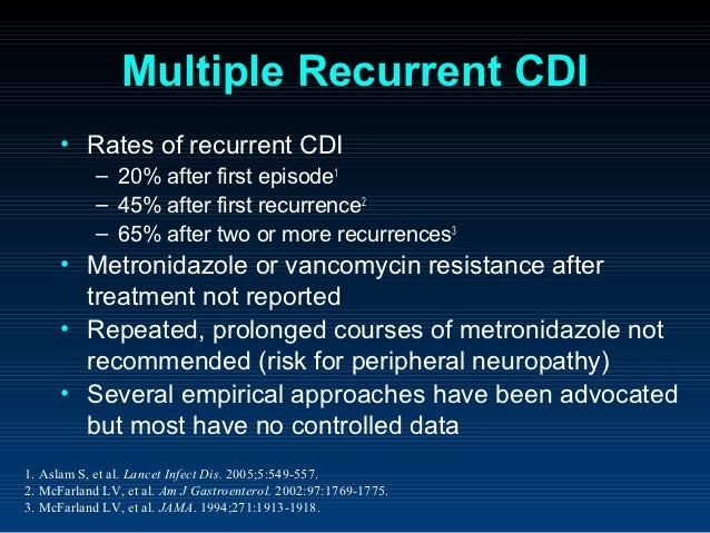 Flagyl For C Diff Iv