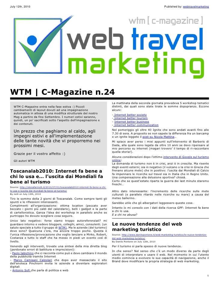 WTM C-Magazine n.24