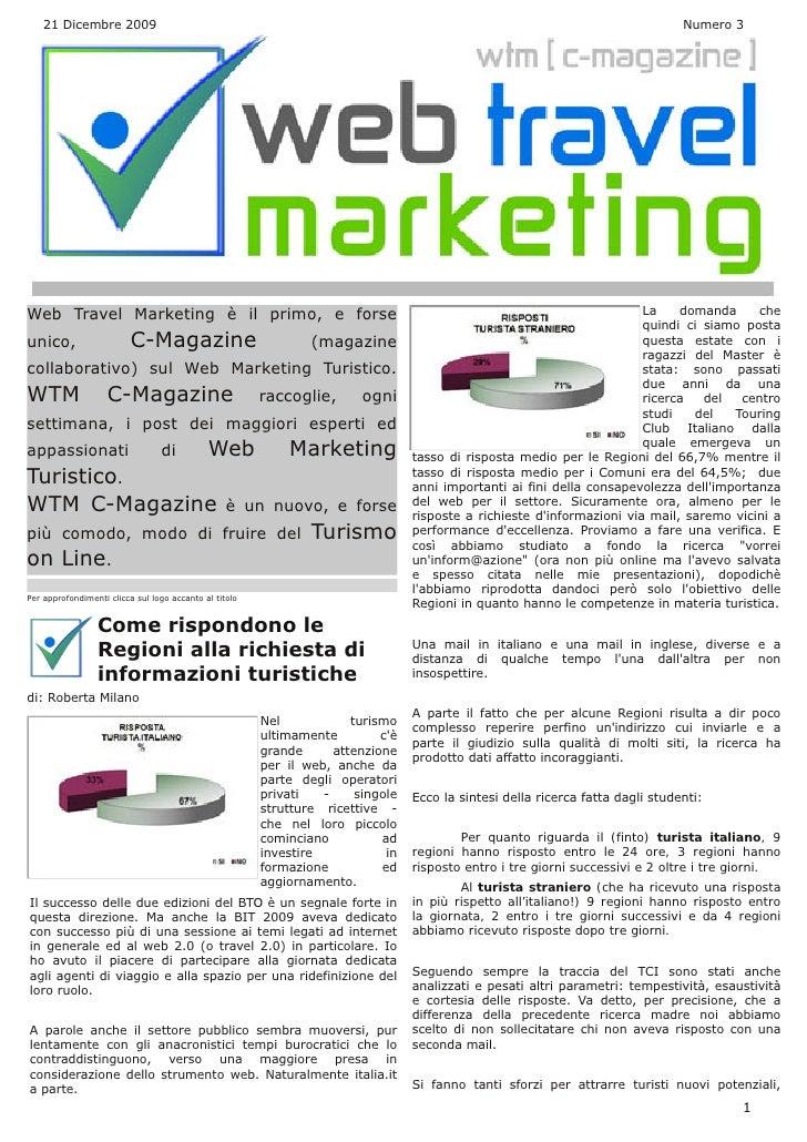 Web Travel Marketing Magazine N° 3