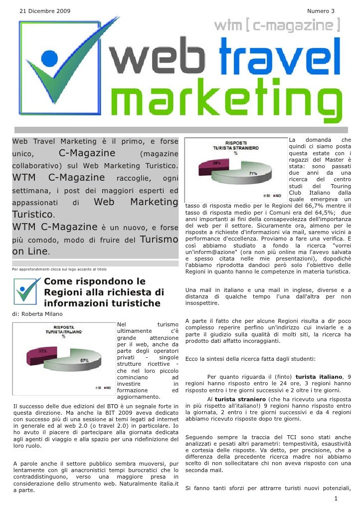 Web Travel Marketing Magazine N° 3