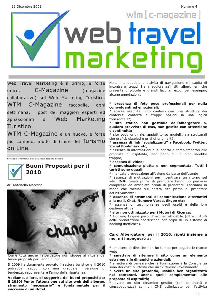 Web Travel Marketing Magazine N° 4