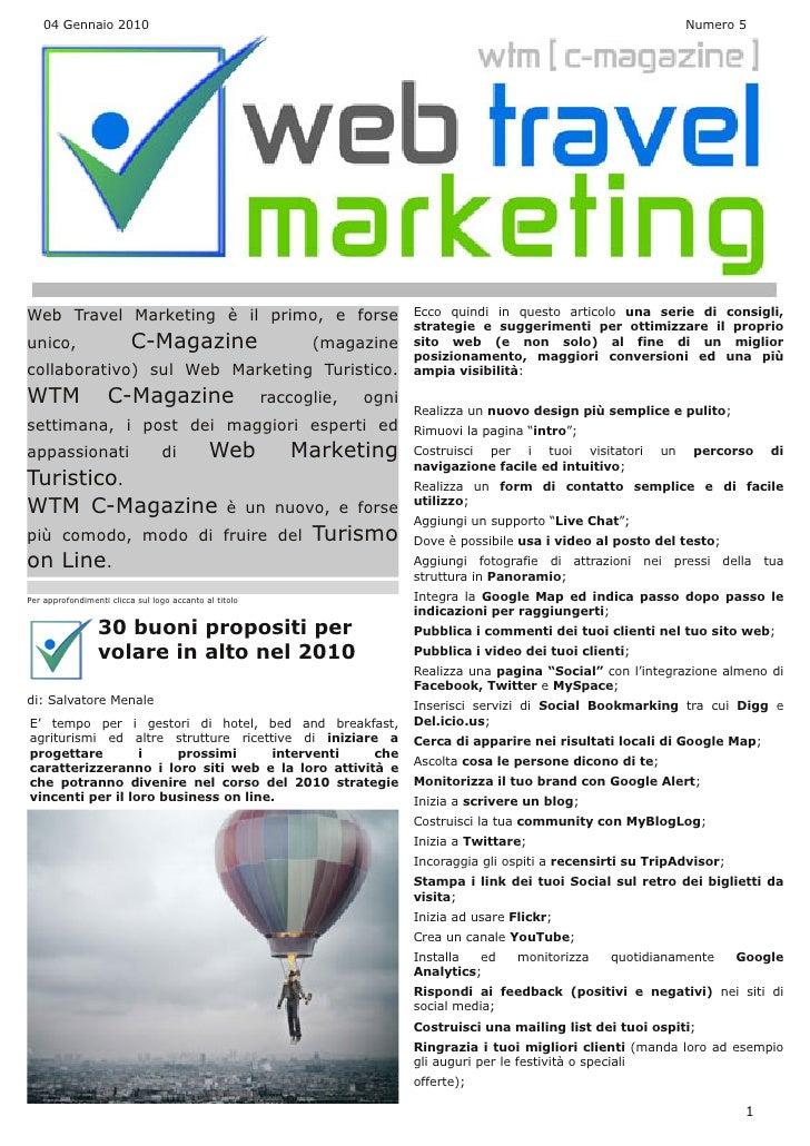 Web Travel Marketing Magazine N° 5