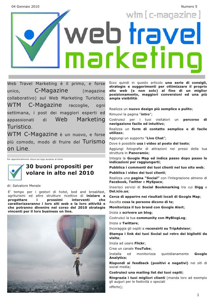 Web Travel Marketing Magazine N° 5