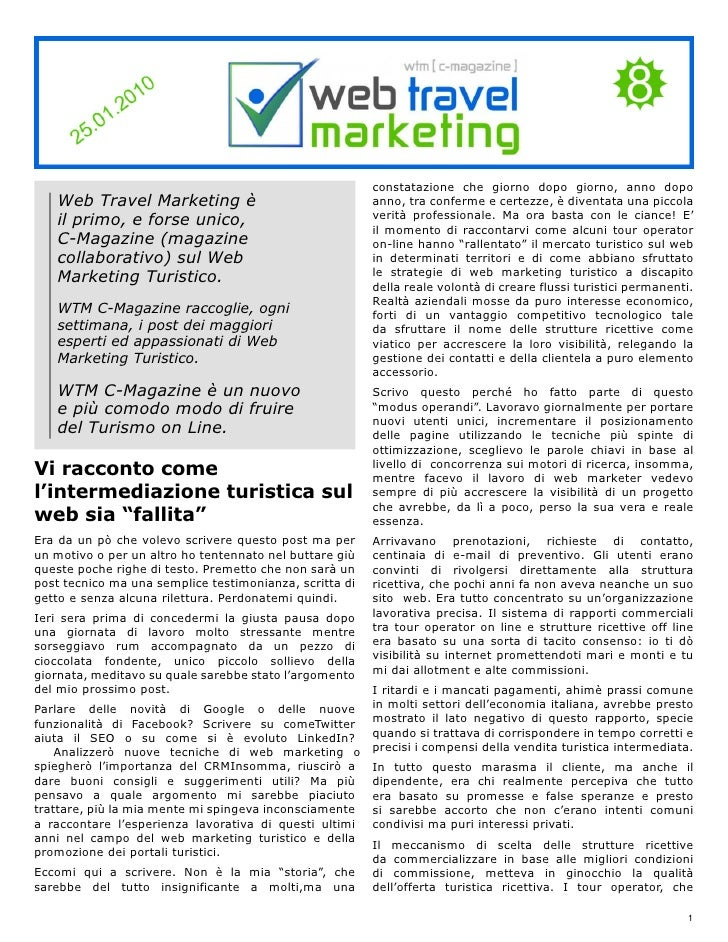 Web Travel Marketing Magazine N° 8