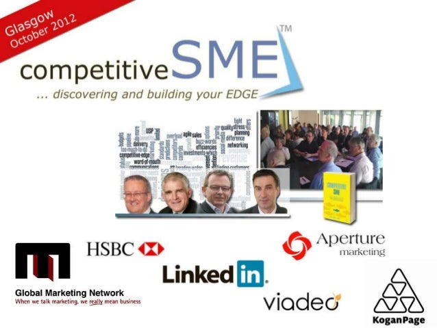 : Agenda1.   Welcome and Introduction (David Hood, Competitive SME)2.   Opportunity or Armageddon? Ready for the Economic ...