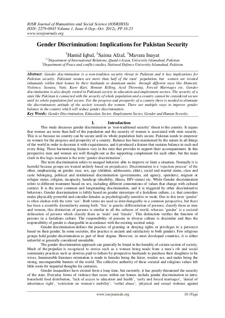 IOSR Journal of Humanities and Social Science (IOSRJHSS)ISSN: 2279-0845 Volume 1, Issue 4 (Sep.-Oct. 2012), PP 16-25www.io...
