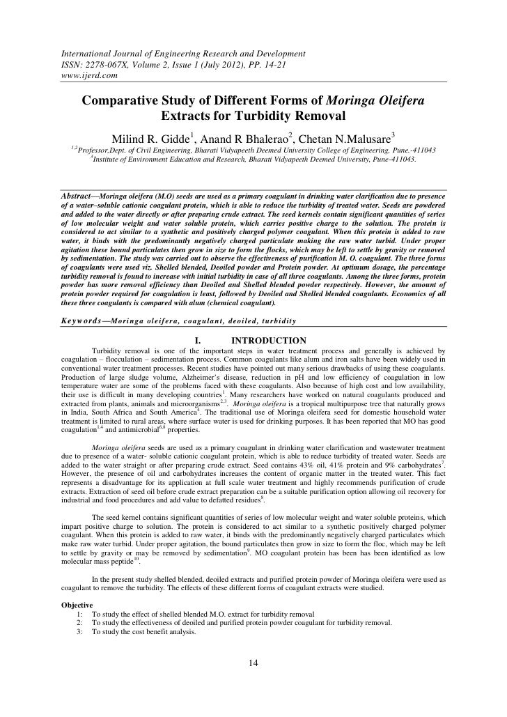 International Journal of Engineering Research and DevelopmentISSN: 2278-067X, Volume 2, Issue 1 (July 2012), PP. 14-21www....