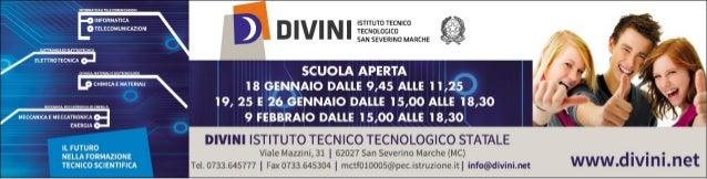 Scuola aperta ITT Divini - a.s. 2013-14