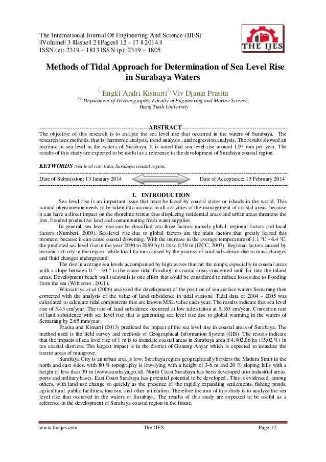 The International Journal Of Engineering And Science (IJES)   Volume   3   Issue   2   Pages   12 - 17    2014    ISSN (e)...
