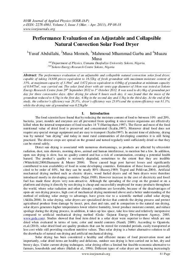 IOSR Journal of Applied Physics (IOSR-JAP)e-ISSN: 2278-4861. Volume 3, Issue 3 (Mar. - Apr. 2013), PP 08-18www.iosrjournal...