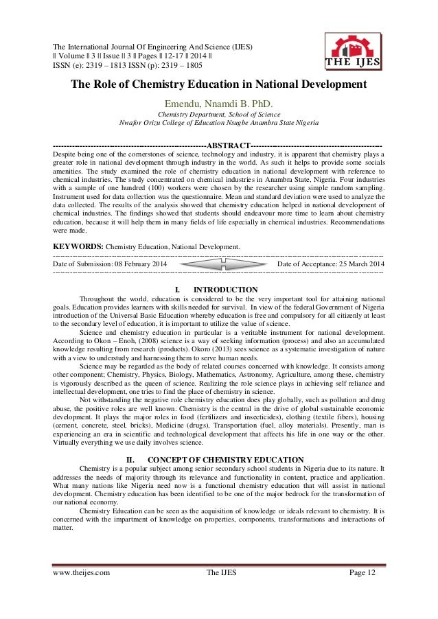 The International Journal Of Engineering And Science (IJES) || Volume || 3 || Issue || 3 || Pages || 12-17 || 2014 || ISSN...