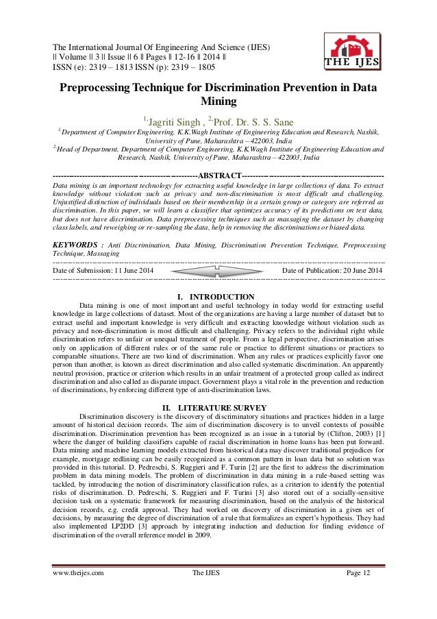 The International Journal Of Engineering And Science (IJES) || Volume || 3 || Issue || 6 || Pages || 12-16 || 2014 || ISSN...