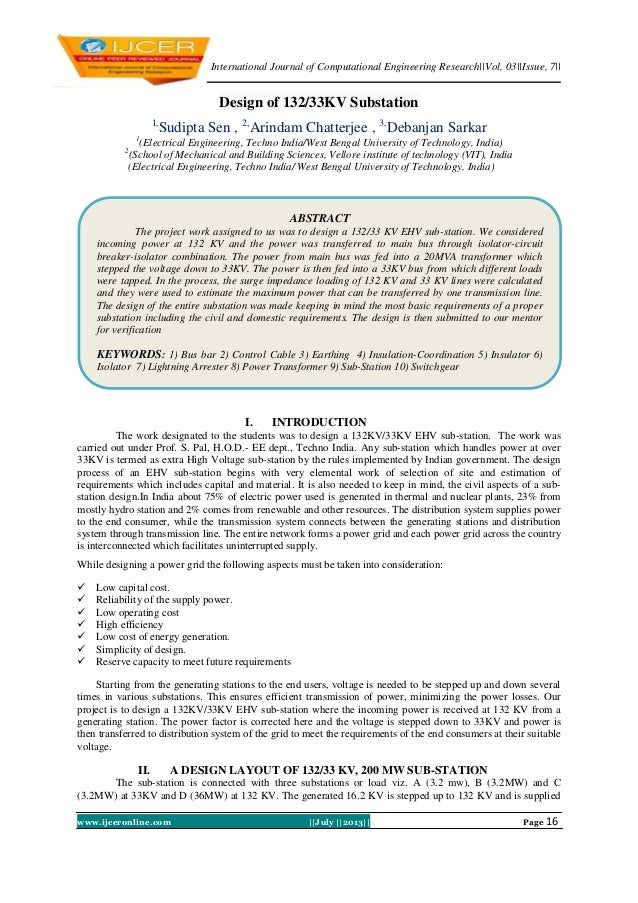 International Journal of Computational Engineering Research (IJCER)