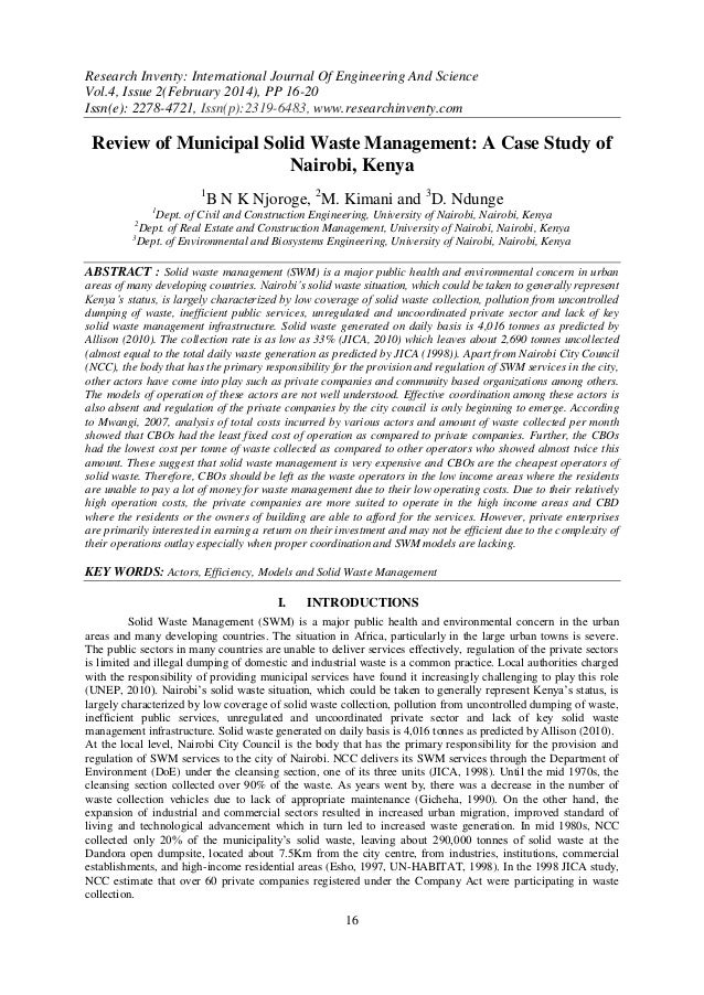 Research Inventy: International Journal Of Engineering And Science Vol.4, Issue 2(February 2014), PP 16-20 Issn(e): 2278-4...