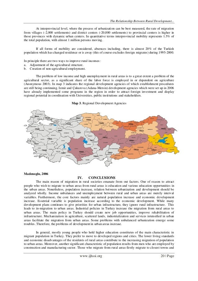 migration and rural development World migration report urbanization, rural–urban migration  international institute for environment and development  rural–urban migration is the result of .