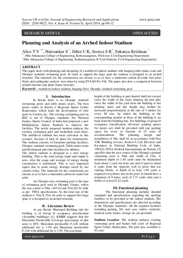 Soorya S R et al Int. Journal of Engineering Research and Applications www.ijera.com ISSN : 2248-9622, Vol. 4, Issue 4( Ve...