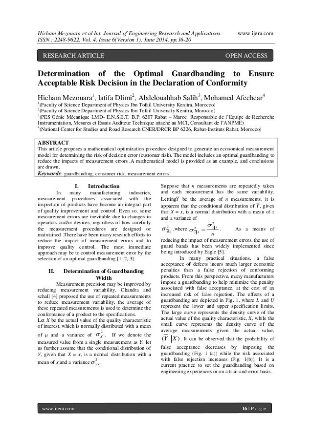 Hicham Mezouara et al Int. Journal of Engineering Research and Applications www.ijera.com ISSN : 2248-9622, Vol. 4, Issue ...