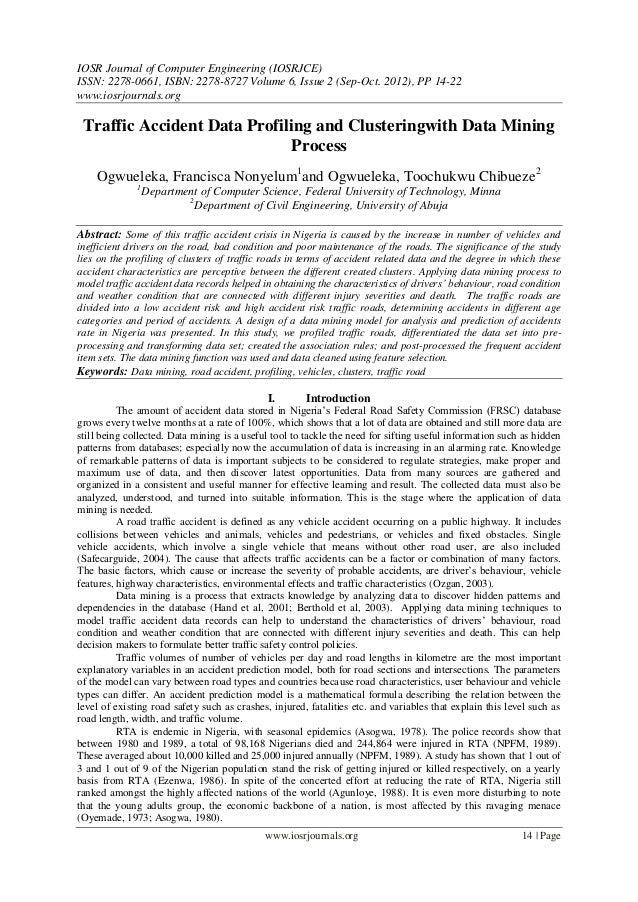 IOSR Journal of Computer Engineering (IOSRJCE) ISSN: 2278-0661, ISBN: 2278-8727 Volume 6, Issue 2 (Sep-Oct. 2012), PP 14-2...
