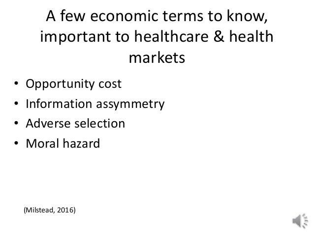 terms in economics
