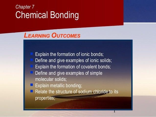 C07 chemical bonding