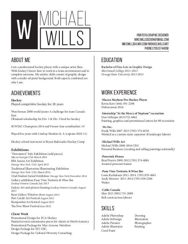 wills resume