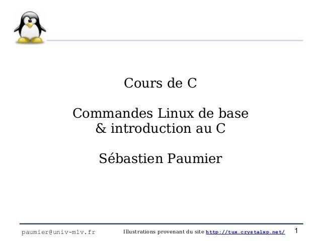 C1 linux et intro c