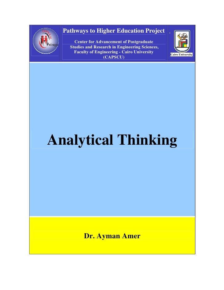 C10 1 Analytical Thinking