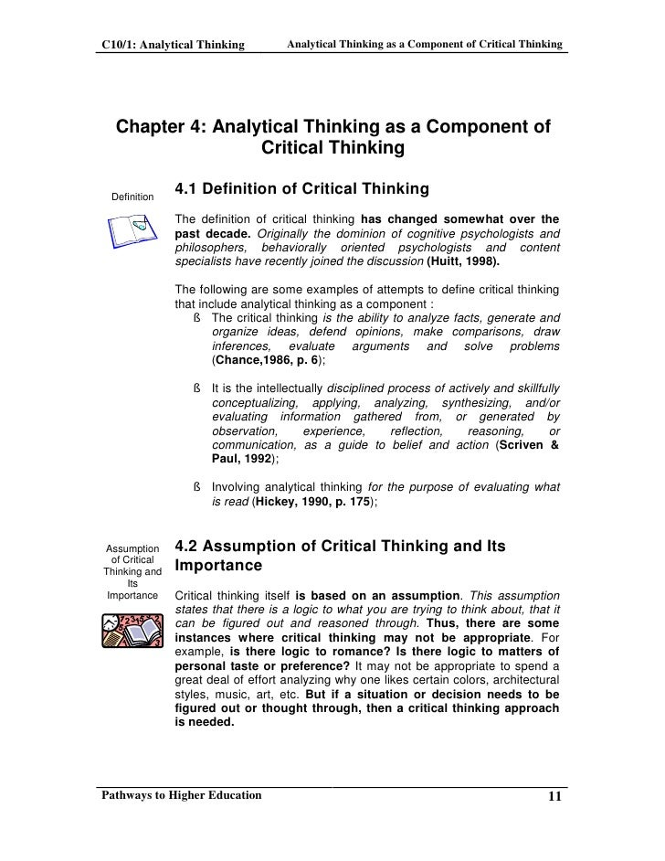 critical thinking in essay writing Research says / teach critical thinking to teach writing have actually examined the link between critical thinking and writing and writing an analytical essay.