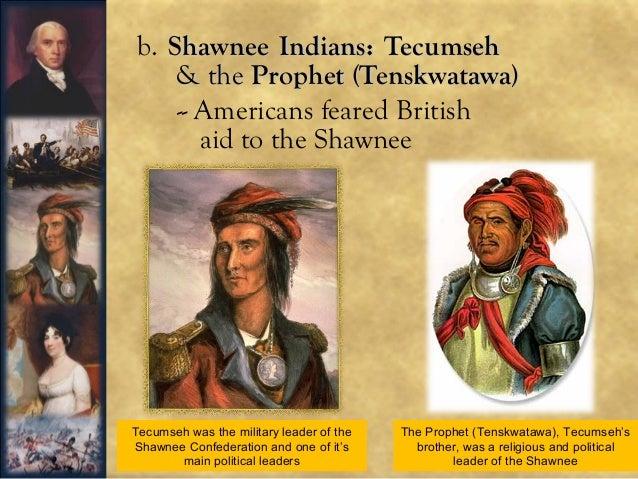 Tecumseh war of 1812