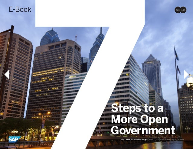 7 Steps to a more open government