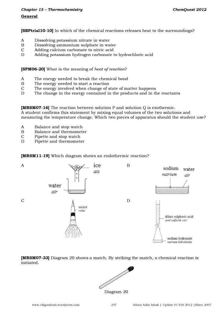 ChemQuest2012 - Chap13