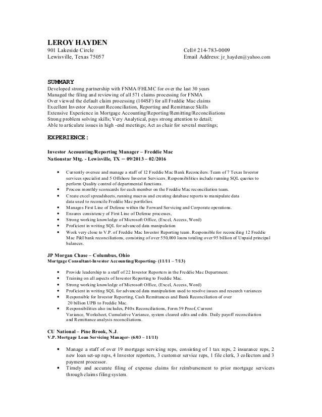 new resume form