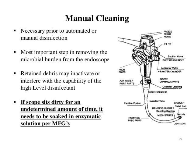 olympus bronchoscope cleaning instructions