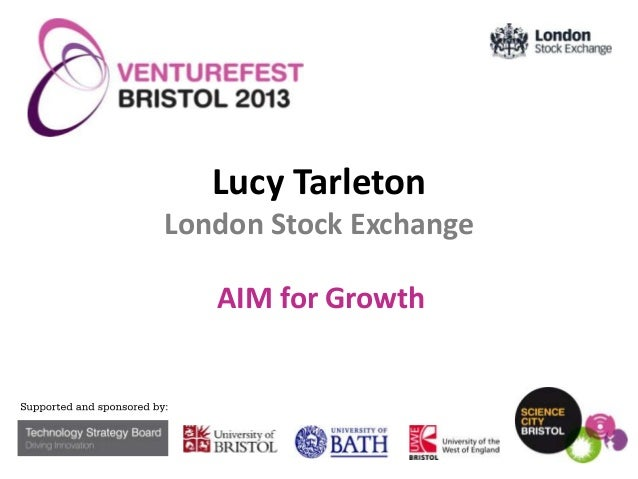 Lucy Tarleton London Stock Exchange  AIM for Growth