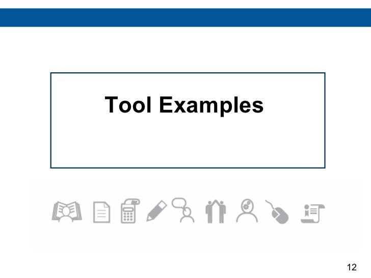 Tool Examples 12