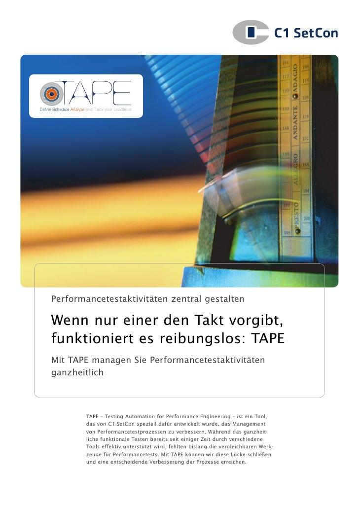 C1 SetCon Broschüre TAPE