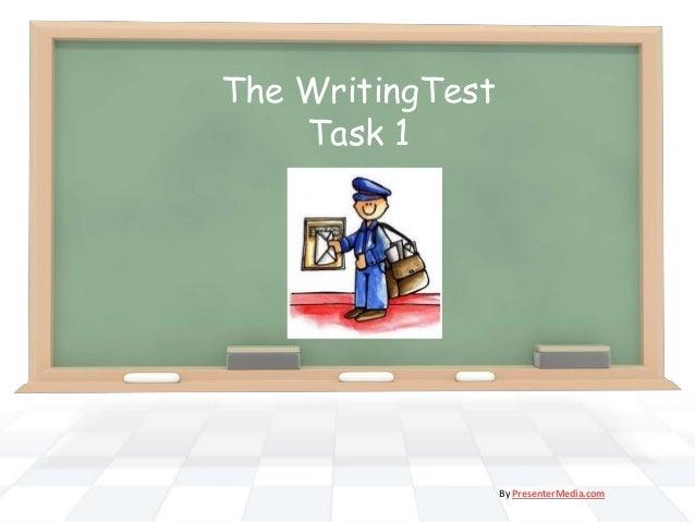 The WritingTest Task 1 By PresenterMedia.com
