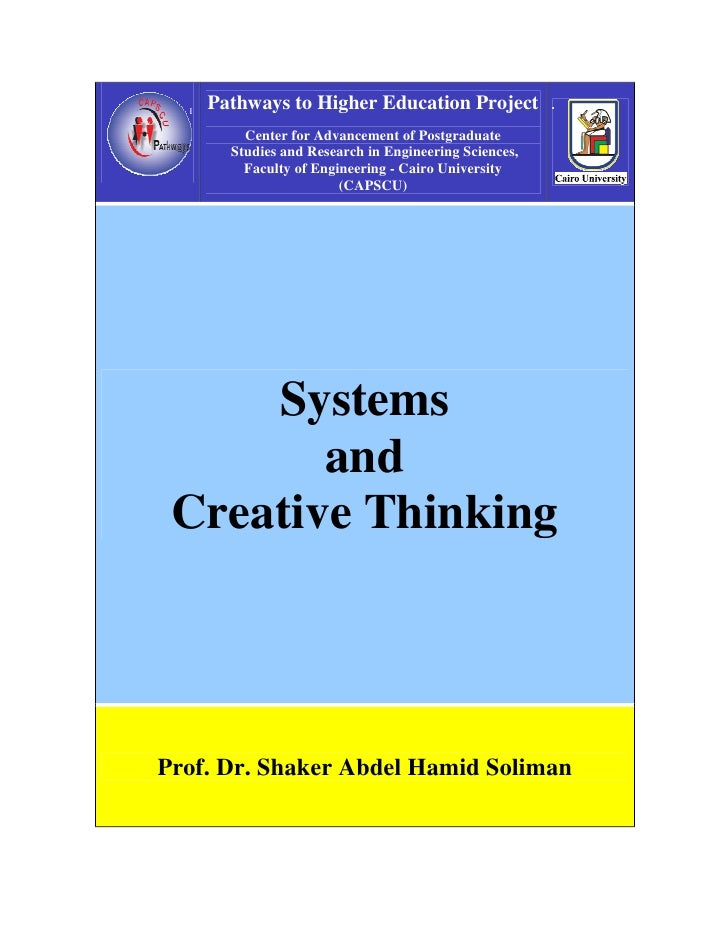 C2 1 Systems And Creative Thinking