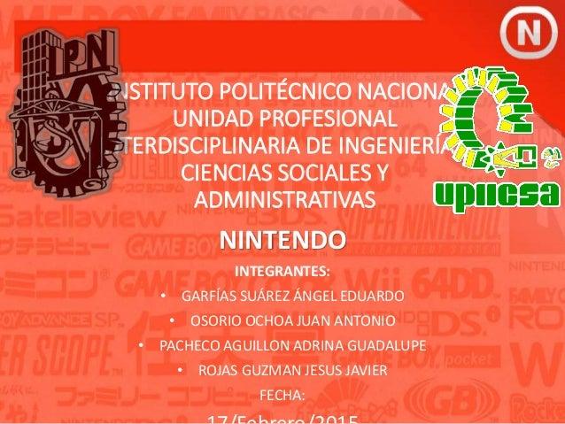 INSTITUTO POLITÉCNICO NACIONAL UNIDAD PROFESIONAL INTERDISCIPLINARIA DE INGENIERÍA Y CIENCIAS SOCIALES Y ADMINISTRATIVAS N...