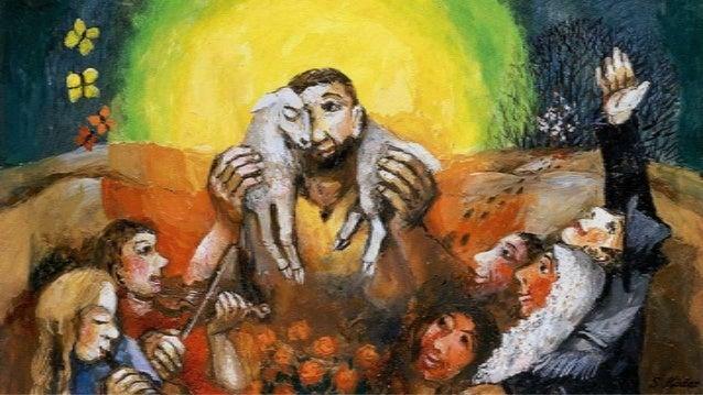 De herder is verwonderd: waar is het schaapje heen? Hij telt ze alle honderd, hij telt ze een voor een... Van al die honde...