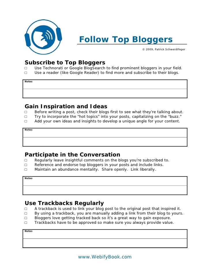 C25 subscribe to top bloggers (worksheet)