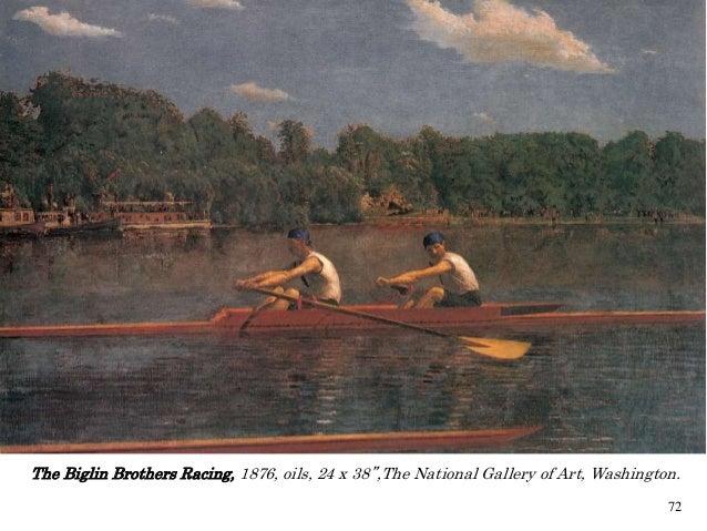 Thomas Eakins The Biglin Brothers Racing