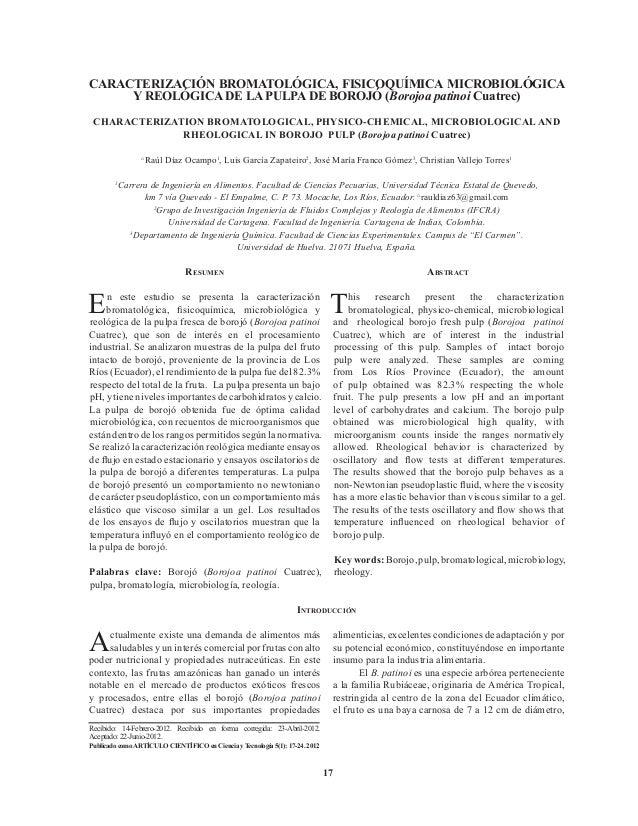 C2 caracterizacion pulpa borojo