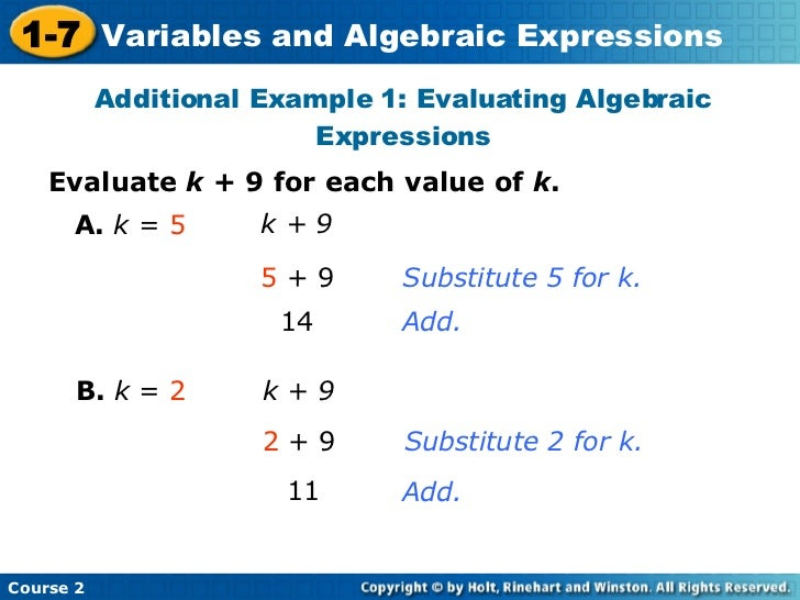 Simplifying algebraic expressions worksheet with answers