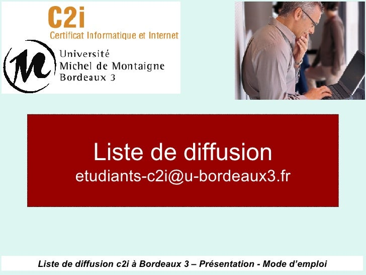Liste de diffusion [email_address]